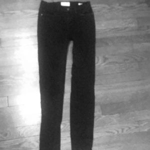 Frame black jeans